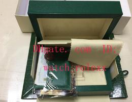 Wholesale Mens Sub Watch - Handbag Mens Inner Outer Original Wooden Box Watch Boxes Papers 116610 116660 7750 3135 3186 116710 116520 DayDate Swiss ETA gmt sub sea