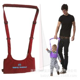 Wholesale Kids Belts Wholesale - Useful Kids Harnesses Leashes Toddler Belt Walking Assistant Baby Safe Learning Walk Aid Assistant Harness Adjustable Strap 2109020