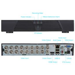 Wholesale Dvr 16ch D1 - 16CH 960H D1 CCTV DVR Surveillance Video Recorder Standalone Onvif H.264 HDMI Motion Detection PTZ Control