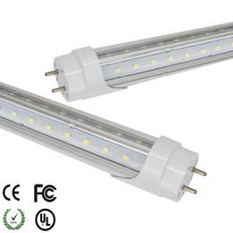 luz del refrigerador del solo perno de 5ft led Rebajas T8 llevó el tubo de luz 28 1200mm 4 pies, smd2835 llevó el tubo fluorescente 110v 220v, FEDEX de envío libre llevó el tubo t8