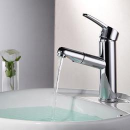 Lavabo lavabo lavabo online-Calda e fredda miscelazione di rame miscelato a mano con noodle a mano rubinetto lavabo lavello lavamani