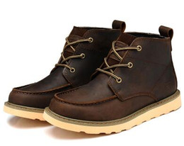 Wholesale dong man - men 's boots,leather boots male qiu dong season,cylinder in the leisure fashion Man boots,Botas DE cuero Man
