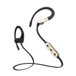 Wholesale Earhook Mic - Sports Earphones Running Waterproof Sweatproof IPX5 with mic in-ear earhook Music Headset Mobile Stereo Bass Bluetooth headset