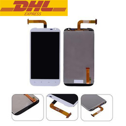 """Wholesale Display Screen G21 - For HTC Sensation XL X315E G21 4.7"""" New White Full LCD Display Panel + Touch Screen Digitizer Glass Assembly Repair Replacement"""