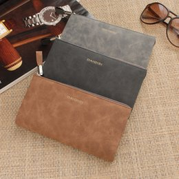 Wholesale Wallets For Men Cheap - Cheap Men wallet Brand Free Shipping Long Card Wallet For Male Pocket Fashion High Quality Groom Purse