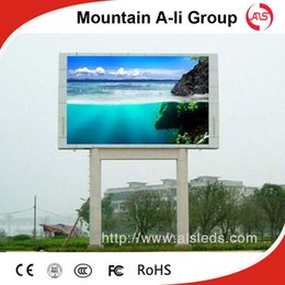 Wholesale Outdoor Led Display Module - Shenzhen Mountain A-Li Group P13.33 Outdoor Waterproof Full Color LED Display Screen For Advertising With 1R1G1B DIP Module