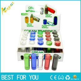 Wholesale Ice Cream Alloy - N2O Aluminum Alloy Cream Whipper Charger Nitrous Oxide Aluminum nos cracker N2O