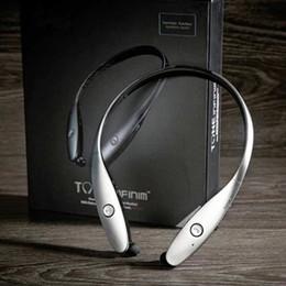 Wholesale Lg Tone Wireless Bluetooth - 2017 Newest HBS 900 Earphone Headsets Tone+ Infinim Neckbands Wireless Stereo Earphones Bluetooth 4.0 Sport Headphone for HBS900 HBS-900
