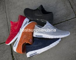 Wholesale Skateboard Sneaker Shoes Men - Hot Sale SB Stefan Janoski Max 2015 Running Shoes Men And Women Fashion Konston Lightweight Skateboard Athletic Sneakers Maxes Size 36-45