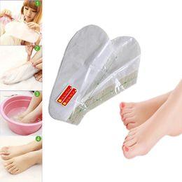 Wholesale Exfoliating Scrub Mask Foot - 2Pair Pack Foot Mask Skin Care Exfoliating Softening Scrub Foot Mask Socks Tendering Feet Care Sticker new arrivals 1212002