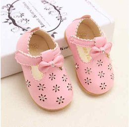 Wholesale Hook Ends - 2016 summer autumn female baby shoes a toddler shoe leather shoes single shoes rubber at the end of the princess 'shoes