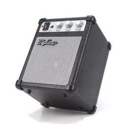 Wholesale Guitar Mini Amp Amplifier - Electronic Myamp Guitar Amplifier Adjustable Portable Speaker Engraving Deep Bass Sound Effect Mini my amp Marshall for iphone 6s SE samsung
