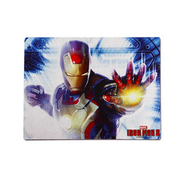 Wholesale Gaming Cool Pad - E-3lue computer game E-3lue E-Blue Cool Iron Man 3 Gaming Mouse Pad Three Kinds to Choose fresh