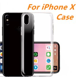 Wholesale Case Galaxy Tpu - Crystal Clear Case For iPhone X 8 7 6 Plus Ultra Thin High Transparent Soft Gel TPU Case For Samsung Galaxy S8 S7