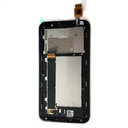 Wholesale Lcd Tv Part - LCD With Frame For Asus ZenFone Go TV ZB551KL LCD Display+Touch Screen Digitizer Assembly Frount Housing Part Free Shipping