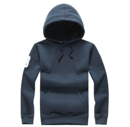 Wholesale Mens Casual Jackets Sale - Free shipping new Hot sale Mens polo Hoodies and Sweatshirts autumn winter casual with a hood sport jacket men's hoodies