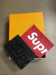 Wholesale Cheap Bags For Men - Cheap Supremes Bags High Quality Wallets Partical Catch handbags Fashion for men or Women Fashion Little bags Hot Sale