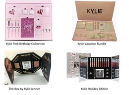 Wholesale Chrismas Set - New Kylie Vacation Edition & Birthday Collection I WANT IT ALL & the Box by Kylie Jenner & Chrismas Holiday Edition Makeup Set