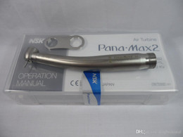 Wholesale Dental Handpiece Cleaner - NSK Pana Max2 Dental High Speed Handpiece Clean Head Push Borden 2Holes Ceramic A
