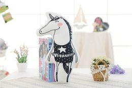 Wholesale Dolls Little Pony - Unicorn doll, pony fox, pillow cotton, little girl, rainbow baby, comfort sleeping doll