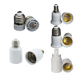 Wholesale E12 E27 Holder - E27 TO E40 lamp holders sockets Converter Clamp bases for E11 E12 E14 scokets Screw B22 light Wedge G9 G24 GU24 MR16