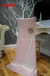 Wholesale Sample Sashes Taffeta - 2015 For Taffeta 3D Flower Wedding Chair Sashes Chair Covers Sample Link CS20
