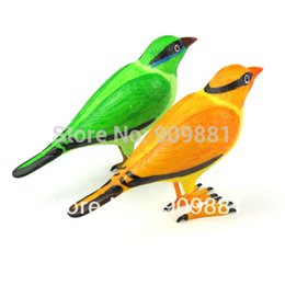 Wholesale Remote Control Birds - 2 Sets lot Home Wireless Bird Remote Control Chime Doorbell Alarm Wireless Digital Doorbell Hot Sale Free Shipping