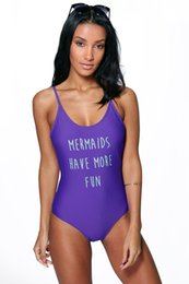 Wholesale Thin Model Swimsuit - MOXIAN 2016 new swimsuit Mermaid was thin piece swimsuit explosion models sexy swimsuit factory direct printing free shipping S M L XL 00328