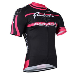 Wholesale Kuota Clothing - Short Sleeves Cycling Jerseys Summer Cycling Suit Quick Dry Black RedRopa Ciclismo Radenska Kuota Bicycle Clothing Whoelsale