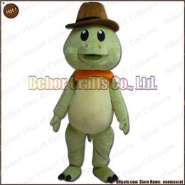 Wholesale Tortoise Mascot Costume - tortoise mascot costume free shipping, high quality cheap plush cuckold girl mascot cartoon adult, accept OEM order.