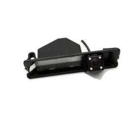 Wholesale Special Car Ccd - CCD HD Night vision 4 LEDS Special Car Rearview Rear View Reverse backup Camera for Nissan March Renault Logan Renault Sandero W