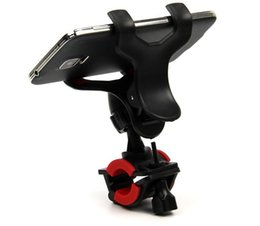 Wholesale Bicycle Bracket - 360 Degree Rotatable Bicycle Phone Holder Handlebar Clip Stand Mount Bracket free shipping