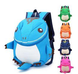 Wholesale Trend Girls Bag - Kids Backpack Girls Boys 2017 New Gift Trend Children Cartoon Kindergarten Backpacks Bag Personality Small Dinosaur