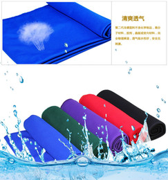 Wholesale Baby Hooded Bath Towels - Cold Towel 85x32cm cooling Towel Exercise Sweat Summer Sports Ice Cool Towel PVA Hypothermia Cooling Towel mix Single layerT342