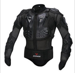 Wholesale Race Leather Jacket - DUHAN Professional Motorcross Racing Full Body Armor Spine Chest Protective Jacket Motorcycle Riding Body Protection Gear Guards