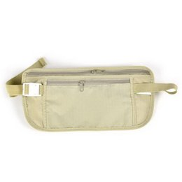 Wholesale Compact Travel Pillow - Wholesale-Mulitifunctional Unisex Waist Packs Outdoor Travel Cycling Running Sport Waist Bag Hidden Compact Security VB692 P0.5