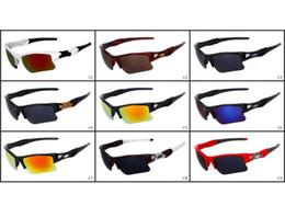 Wholesale Sunglasses Lens Sport Goggle Cycling - Wholesale Price Men Outdoor Cycling Wind Goggle Half Frame Fashion Sunglasses Summer Designer Sun Glasses Resin Lenses Free shipping