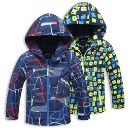 Wholesale 12 Month Boy Jacket - Children Boys Jackets Coats Kids Outerwear Hoodie Tench Coat Long Sleeve Poncho Spring Autumn Winter Down Coat Cotton-padded Clothing