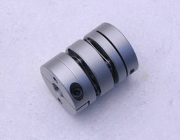 Wholesale Double Diaphragm - New Flexible Aluminum alloys double diaphragm coupling for servo and stepper motor coupling D=56 L=64 ,D1 and D2 are 12 to 25 MM