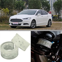 Wholesale Rear Suspension Springs - 2pcs Super Power Rear Car Auto Shock Spring Bumper Power Cushion Buffer Special For Ford Mondeo Change car-styling