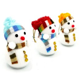 Wholesale Mail Toy - Christmas snowman toy doll Christmas tree widget Christmas decoration gifts Christmas dolls Small package mail