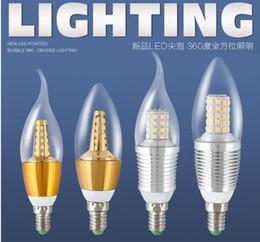 Deutschland Vintage Edison LED Lampe E14 E27 Sockel 5/7/9 / 12W 3000K 6000K Warmes und weißes Licht 110 / 220V LED Birnen Kerzenlicht Versorgung