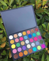 Wholesale Golden Shadow - Makeup Eyeshadow 35 Color golden onion powder sequin eye shadow Tray The JaclYn Hill Palette Eye Shadow Beauty make-up series