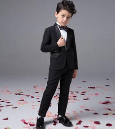 Wholesale Baby Boy Summer Formal Suit - 2016 hot sale Custom Made Fashion baby boy kids blazers suits prom party formal white clothing wedding casual spring summer costume