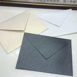 Wholesale Invitations Wholesale Price - Wholesale- 163*116mm Europe Style Business Envelopes School Simple Solid Color Invitation Envelopes Retro Stationery Set Wholesale Price PL
