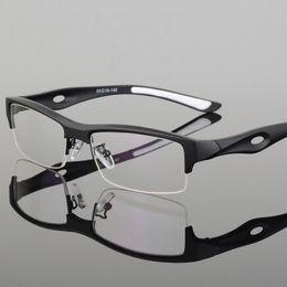 Wholesale Prescription Blue - Fashion Prescription Myopia goggles spectacle tr90 frame eyeglasses optical eyewear frames men glasses oculos