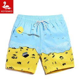 Wholesale Surf Board S - Wholesale-Men's Swim Shorts Trunks Swimming Bermuda Board Surf Wear Swimwear Swimsuits Men Sport Running Casual Outdoor Jogger Shorts