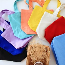 Wholesale women lunch bags - Portable Colorful Lunch Bag Multi Function Square Canvas Handbag For Women Cosmetic Storage Bags Hot Sale 3 5xx CB
