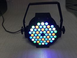 Wholesale Channel Business - RGBW DMX 54 Led Business Stage Lights Flat Par High Power Light Professional for Party KTV Disco DJ EU