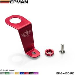 Wholesale Honda Aluminum Radiator - EPMAN racing genuine - Aluminum Radiator Stay Bracket for honda 92-95 CIVIC EG6 EG9 EG Si for Password:JDM Style EP-SX02D